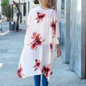 Bellanblue Sweaters - Boho Kimono - BLACK